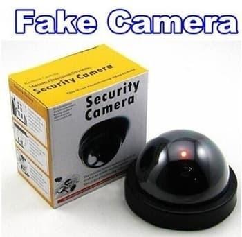 Dummy Security Camera CCTV Fake Palsu Mainan Replika Keamanan Safety