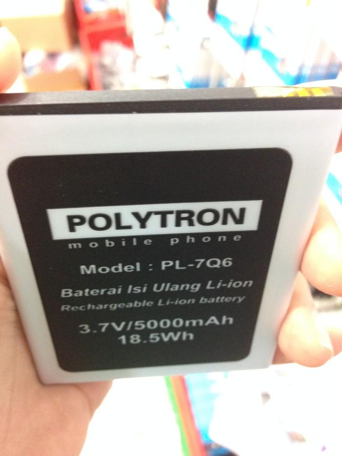 Baterai Polytron R1500 Rocket Q-Five Q5 PL-7Q6 5000Mah Double Power