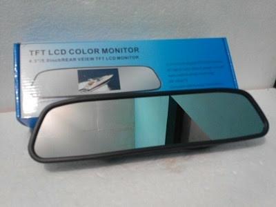harga Monitor model spion tengah display color tft 4.3 inch untuk mobil Tokopedia.com