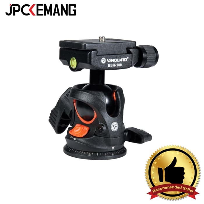 Jual Vanguard Ball Head Bbh-100 With Quick Release And Two Bubble Levels Harga Promo Terbaru