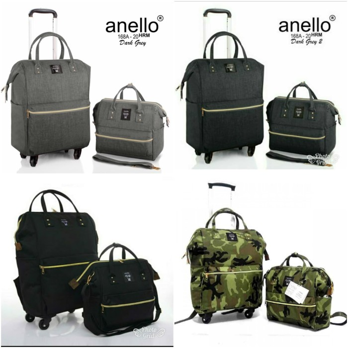 Jual Trolley Anello Set 2in1   Tas Troli Anelo Wanita Set 2-in-1 ... 2ce928273d