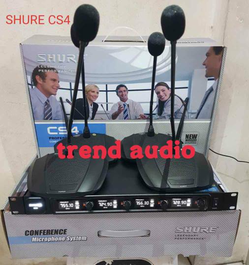 harga Mic wireless  shure cs4. shure cs4 Tokopedia.com
