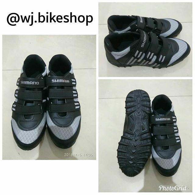 harga Sepatu sepeda shimano abu2 hitam grey non cleat mtb Tokopedia.com