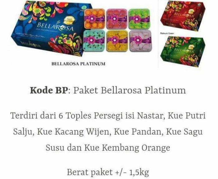 harga Paket kue kering lebaran bellarosa platinum isi 6 toples Tokopedia.com