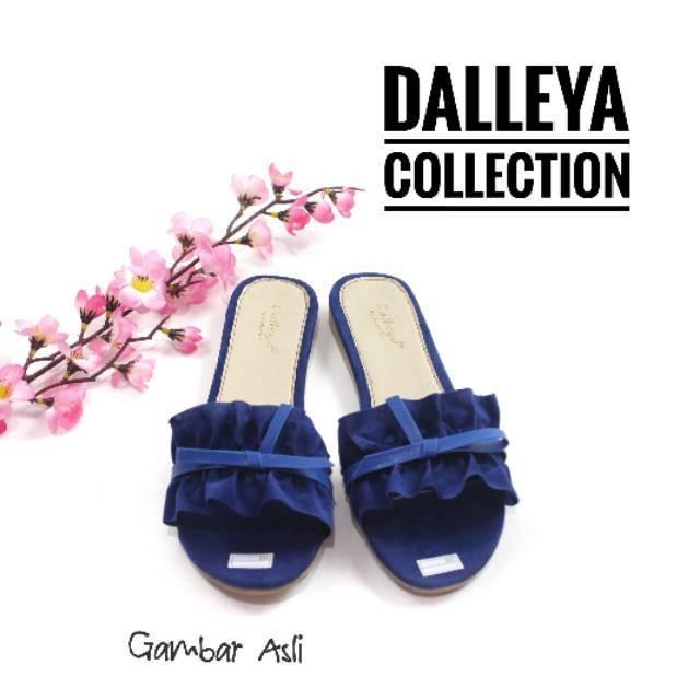 harga Disky - dalleya sandal teplek sendal rample pita casual cantik Tokopedia.com