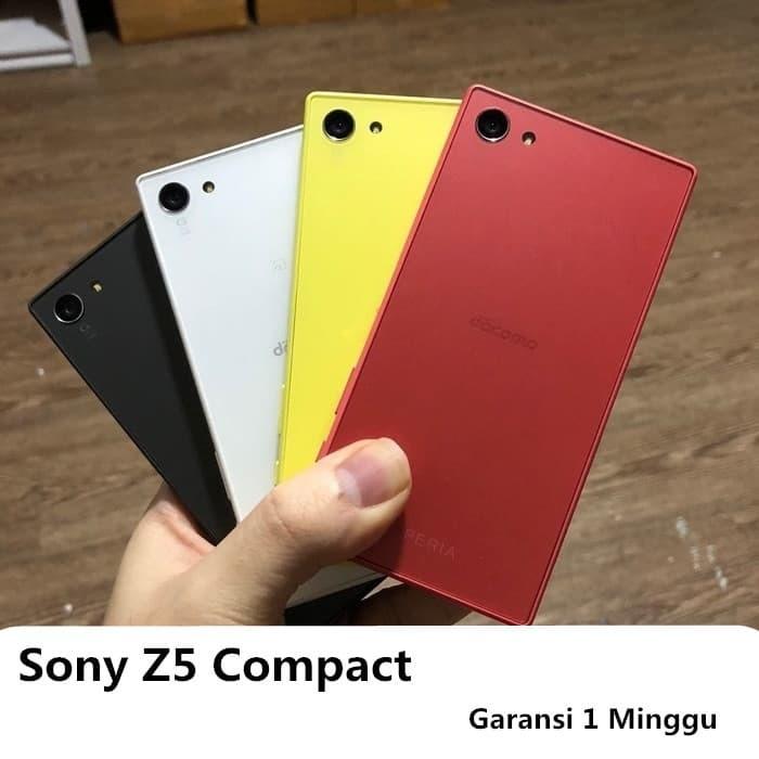 Jual Sony Xperia Z5 Compact Docomo Second 2ND Garansi 1 Minggu - Putih -  Kab  Tangerang - Gadget iPhone Jakarta | Tokopedia