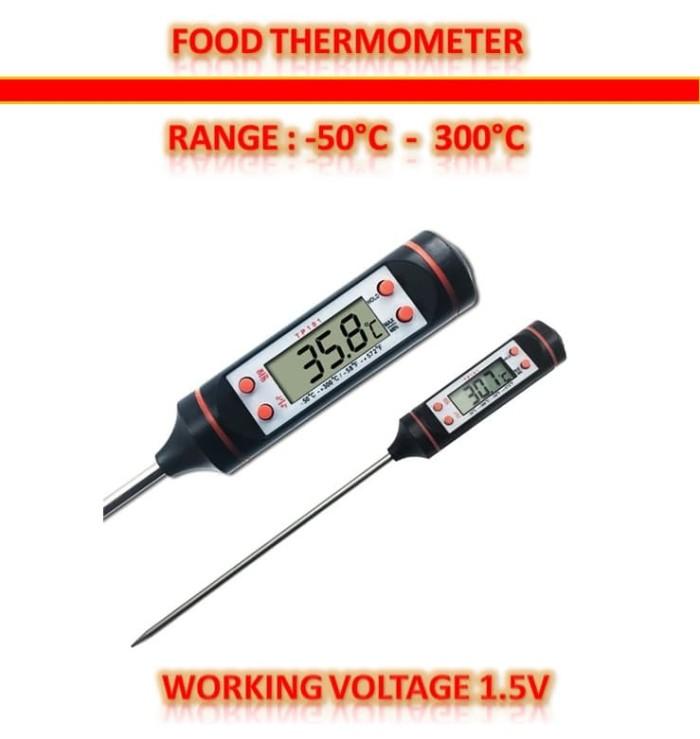 harga Digital food thermometer - termometer makanan / air Tokopedia.com