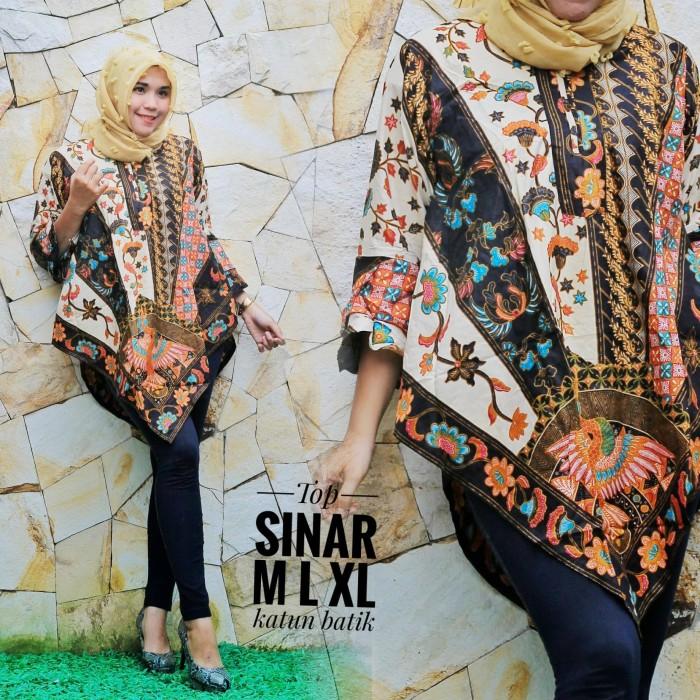 Jual Model Baju Batik Terbaru Tunik Sinar Kota Yogyakarta Grosir Batik Jogja Murah Tokopedia