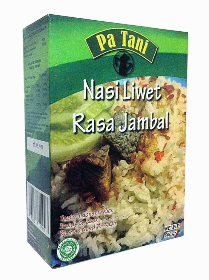harga Nasi instan instant makanan cepat rasa liwet jambal 500 gr 5 - 8 porsi Tokopedia