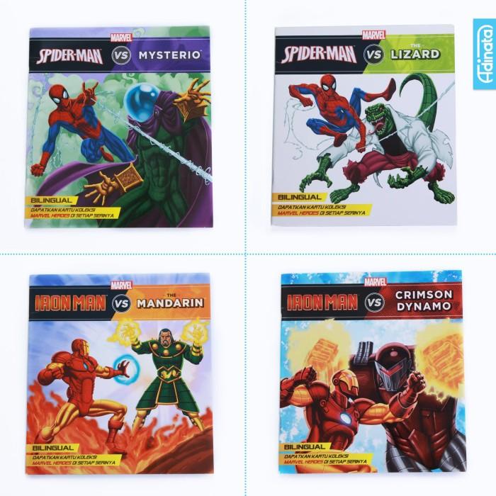 harga Storybook marvel/ buku cerita anak super hero 3 Tokopedia.com