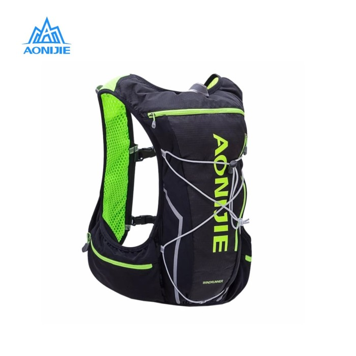Jual Aonijie Hydration Backpack E904s – 10l Trail Marathon Running – Black Harga Promo Terbaru