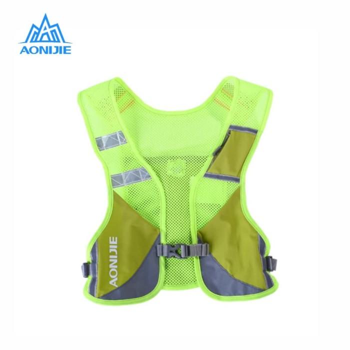 Jual Aonijie Hydration Backpack E884 – Trail Marathon Running – Green Fluo Harga Promo Terbaru