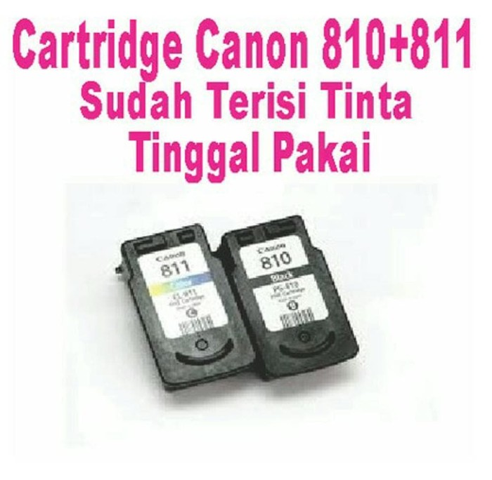 Katalog Cartridge Canon 810 Dan 811 Travelbon.com