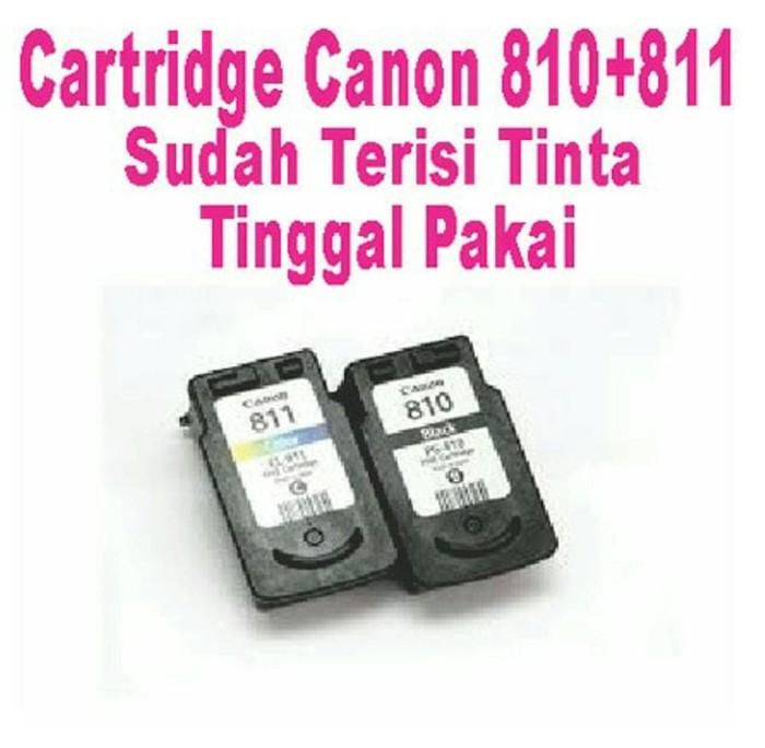 Info Cartridge Canon 811 Dan 810 Travelbon.com