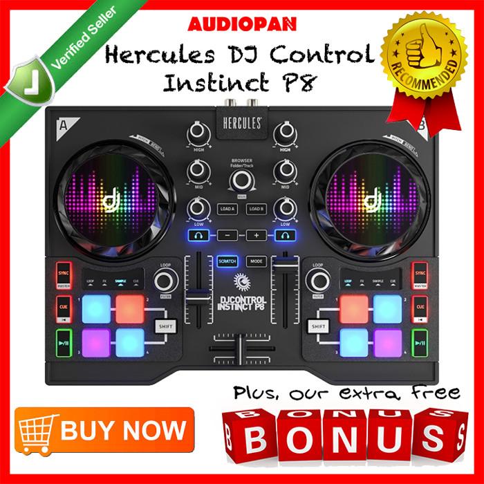 harga Hercules dj control instinct p8 Tokopedia.com