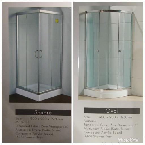 harga Shower box berikut tray Tokopedia.com