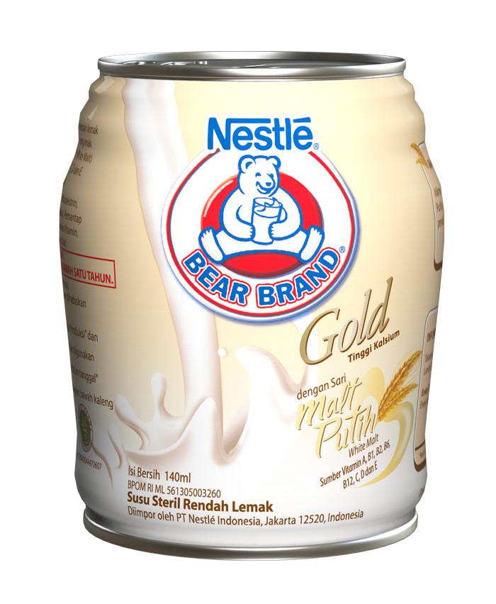 harga Bear brand gold white malt minuman siap minum 140ml  [24 pcs] Tokopedia.com