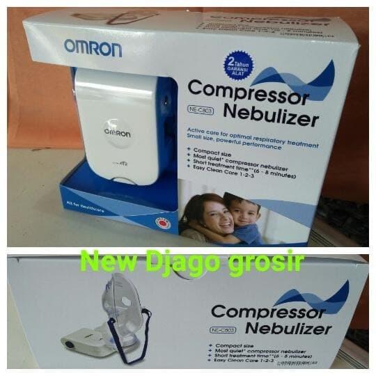 PROMO OMRON NE C803 New COMPRESSOR NEBULIZER NE C803