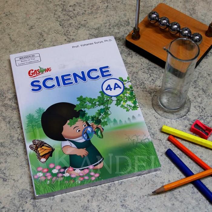 Foto Produk GASING SCIENCE BILINGUAL 4A Prof. Yohanes Surya dari EGASING STORE