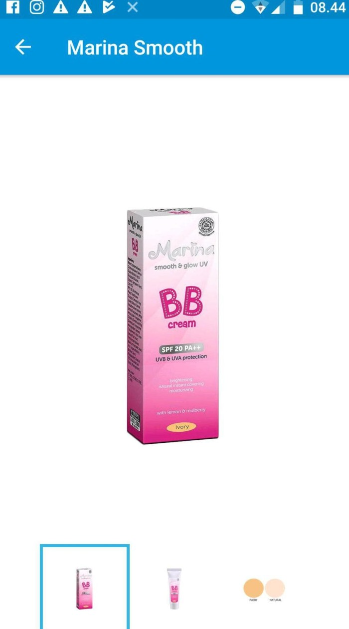 Harga Marina Bb Cream Travelbon.com