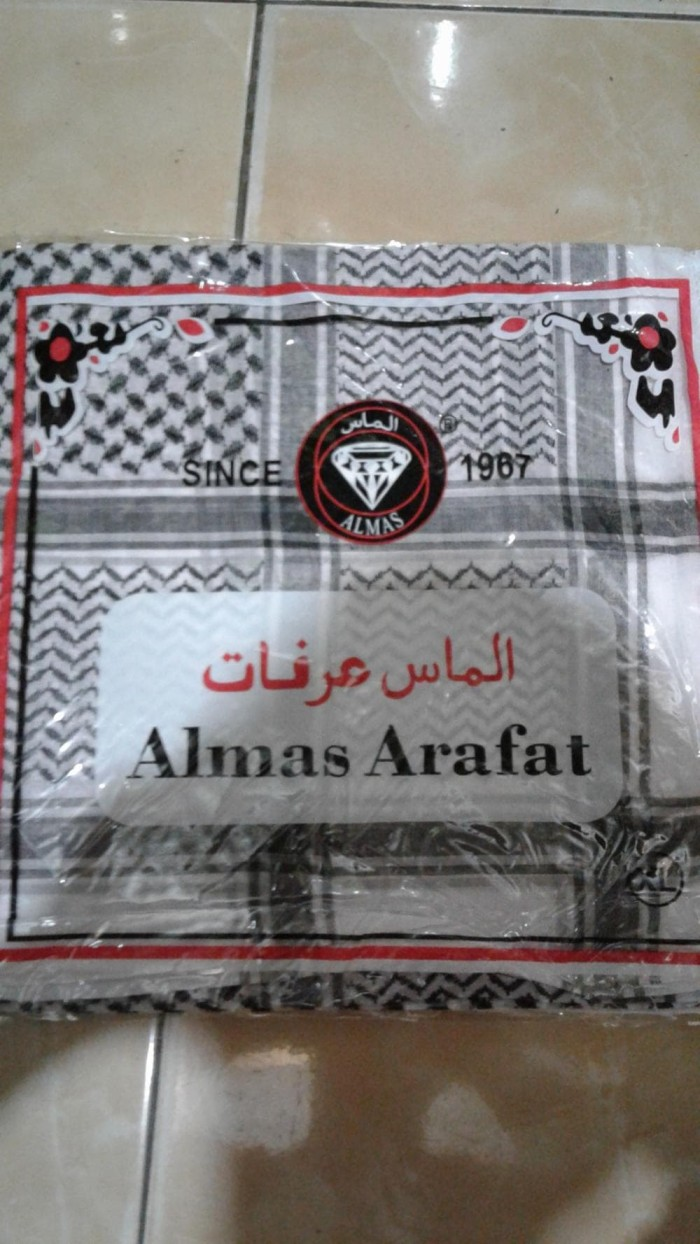 Sorban Almas Arafat Hitam Daftar Harga Terlengkap Indonesia Putih Murah