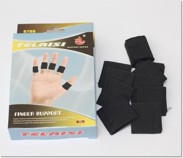 Telaisi Finger support 0709 - Deker Jari 1 pack isi 10 pcs