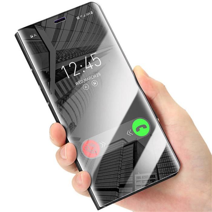 Jual Flip Cover Stand Sview Samsung S9 S9 Plus Case Hp Mirror Auto