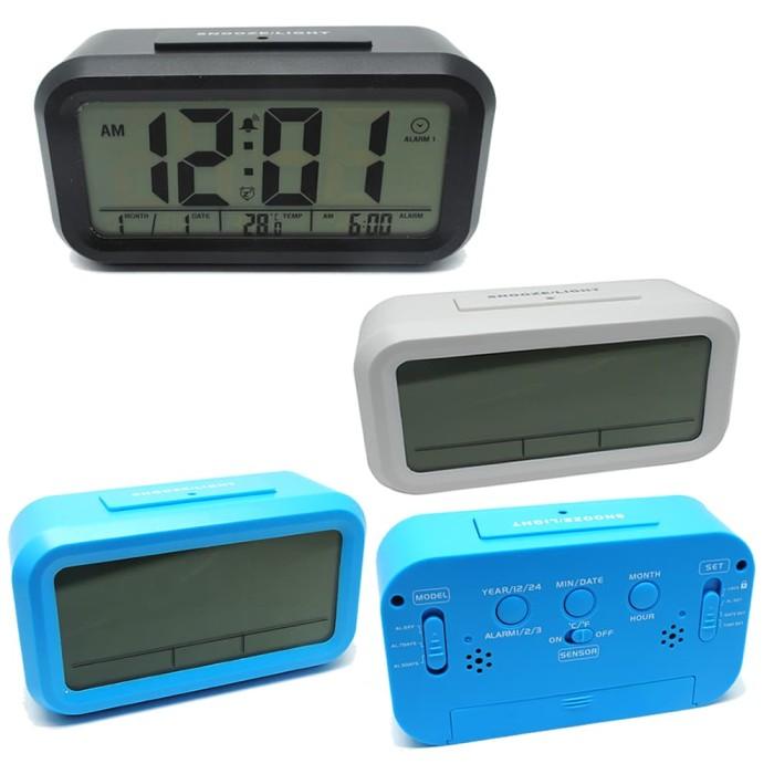 Jam meja digital desktop smart clock…
