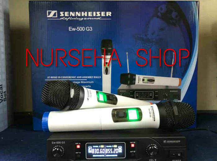 harga Mic wireless microphone wireless sennheiser ew-500 g3 Tokopedia.com