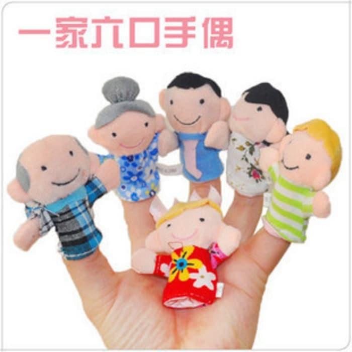 Jual Boneka Kain Jari Motif Keluarga Besar Bahagia Harga Terbaik ... abbae56532