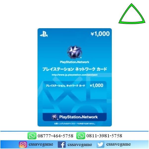 harga Psn card yen 1000 / psn card jp / psn card jepang / psn card jpy Tokopedia.com