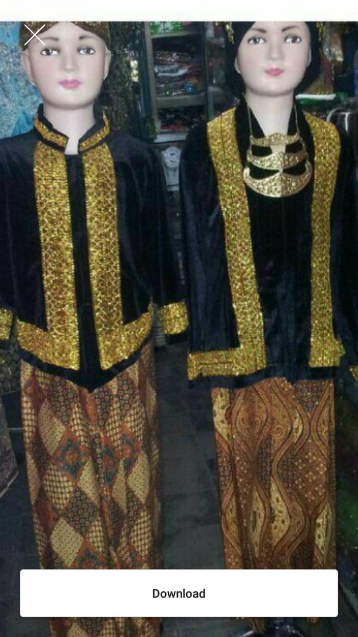 Jual Baju Adat Jawa Bludru Anak Dewasa Pasangan 4 5 Tahun Jakarta Pusat Request Shop