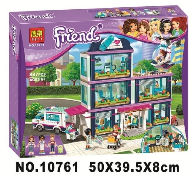 Jual Lego Bela Friends 10761 614pcs Friends Heartlake Hospital
