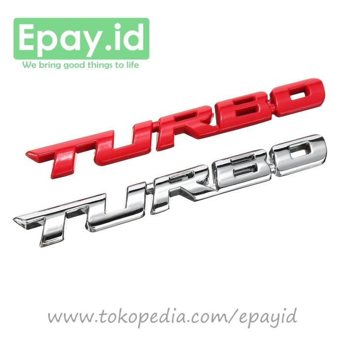 Klikoto Emblem Mobil Variasi Tulisan Innova. Source · Emblem turbo mobil chrome metal premium .