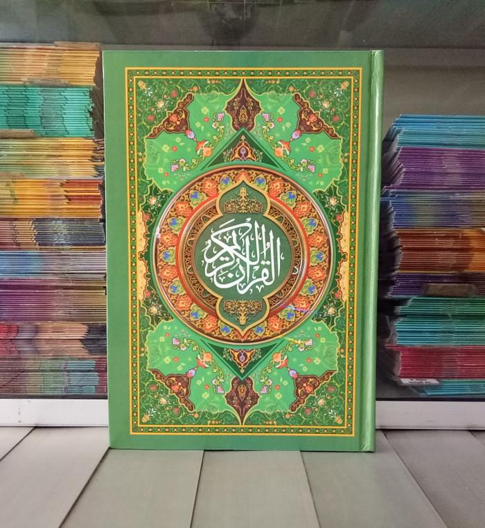 harga Alquran ukuran besar b5 motif batik al-quran sandro kertas hvs Tokopedia.com
