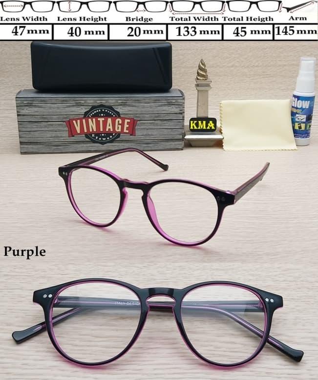 harga Kacamata Korea Frame Kacamata Minus Vintage Bulat Kacamata Minus Retro Blanja.com