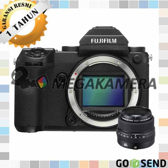 Fujifilm GFX 50S Mirrorless Camera (