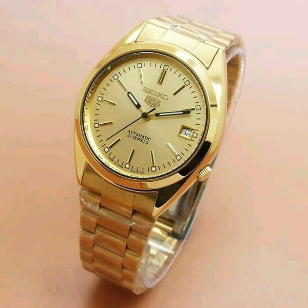 Hasil gambar untuk Review jam tangan seiko 5 automatic 21 jewels
