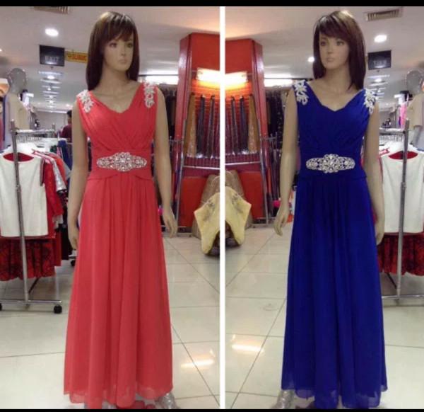Longdress import/Gaun pesta panjang/Baju pesta korea/Bridesmaid 4