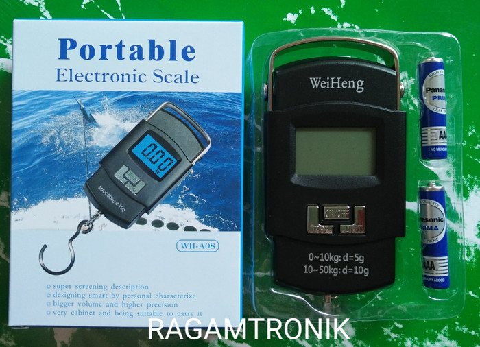 Jual Portable Electronic Scale Timbangan Gantung Digital 50 kg Source · Timbangan Gantung Digital Timbangan Portable Kap 50 Kg