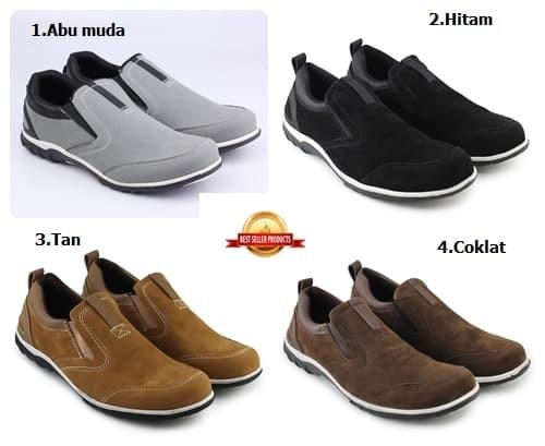 harga Sepatu wakers model catenzo sepatu pria casual slop formal santai Tokopedia.com