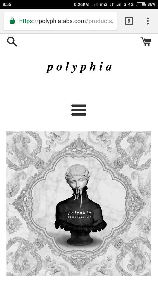 Jasa titip buku gitar Polyphia album Renaissance