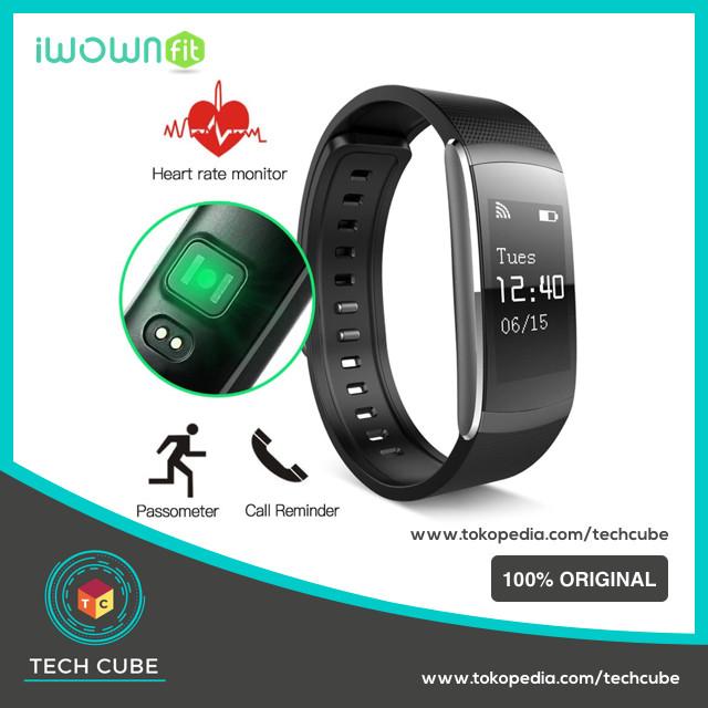 harga Iwown i6 pro smartband   iwownfit i6pro ( alt i6hr xiaomi mi band 2 ) Tokopedia.com