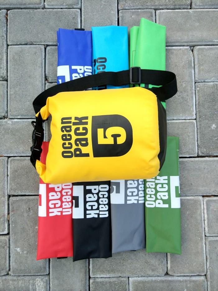 drybag 5 liter / dry bag 5 liter merk ocean pack