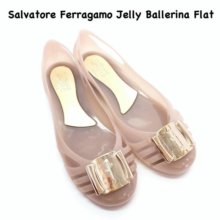 harga Salvatore ferragamo jelly flat Tokopedia.com