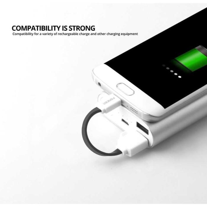 harga Fonken kabel charger micro usb 10cm khusus power bank - fk-mtx-az hita Tokopedia.com