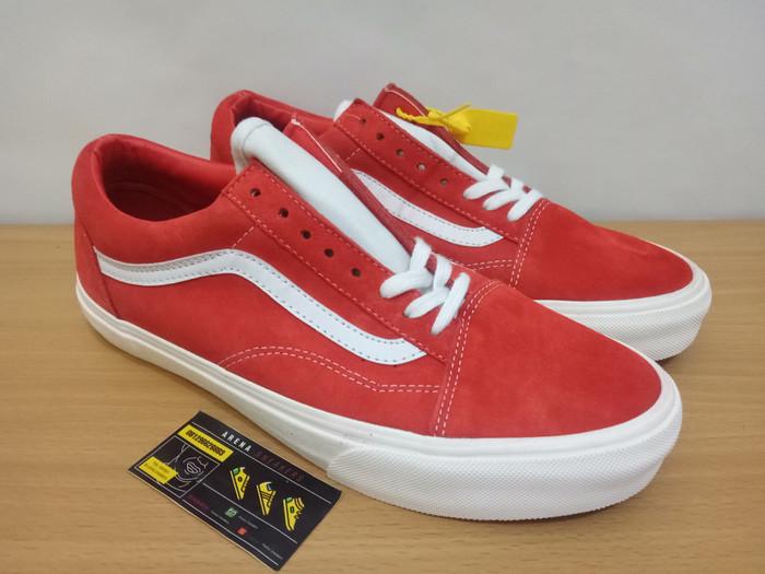 41e38f1dd9 Jual Sepatu Vans Old Skool Vintage Rio Red - Arena Sneakers