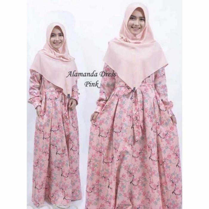 promo murah busana muslim gamis katun jepang baju muslim wanita musli 4