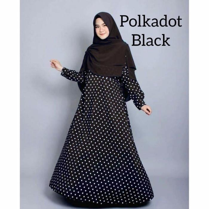 promo murah busana muslim gamis katun jepang baju muslim wanita musli 2