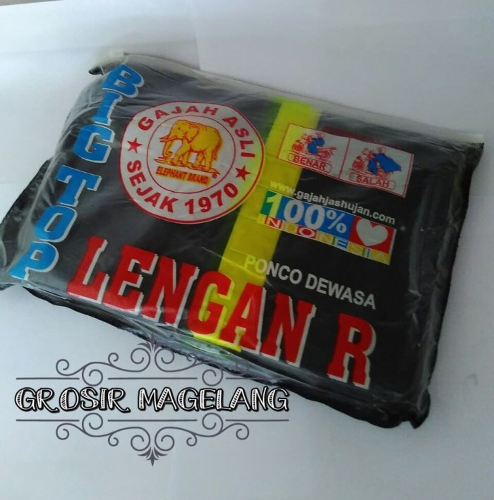 harga Mantel ponco lengan jas hujan  kualitas premium elephant grosir murah Tokopedia.com
